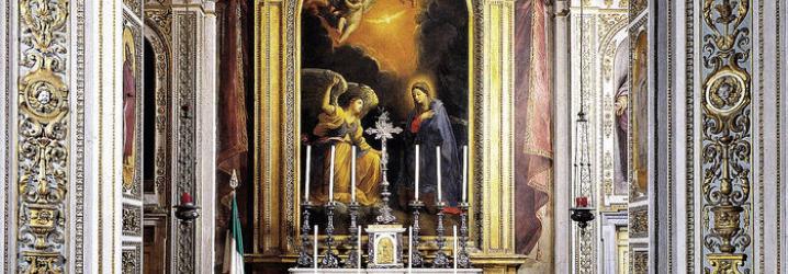 Altare con Annunciazione - Guido Reni