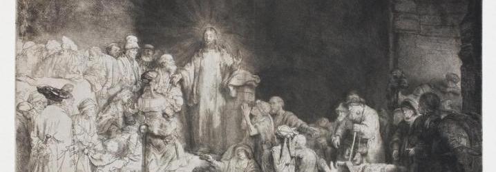 Rembrandt: Stampa dei cento fiorini