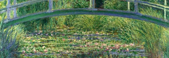 The Water-Lily Pond - Claude-Oscar Monet